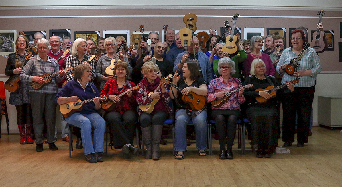 Garstang Ukulele Group April 2018